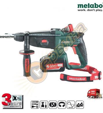 Акумулаторен перфоратор Metabo KHA 18 LTX 600210500 - 18V/4.