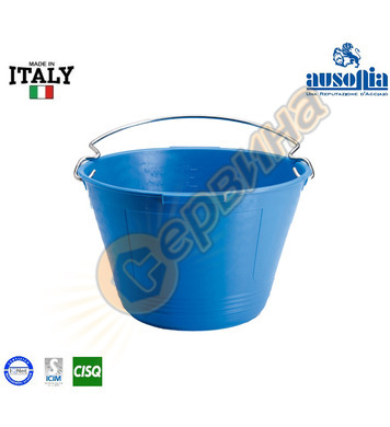 Строителна кофа с предпазител Ausonia AU48378 - ф7мм 10 литр