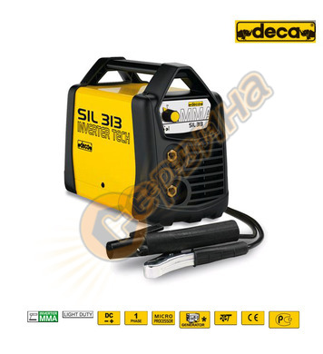 Електрожен инверторен Deca SIL 313 130A без куфар 279380 - 1