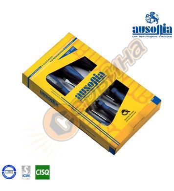 Комплект отвертки прави-кръстати Ausonia AU52601 - 6броя