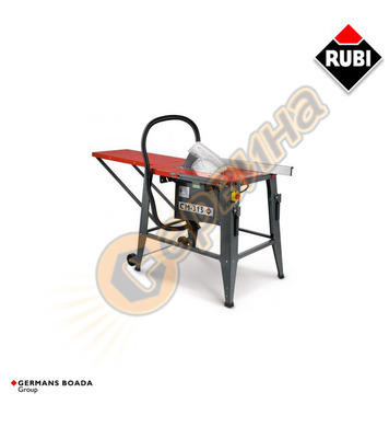 Стационарен циркуляр Rubi CM 315 47956 - 1.5 Kw