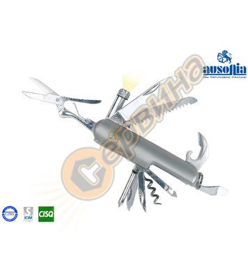 Многофункционален джобен нож с фенерче Ausonia AU24121 - 11