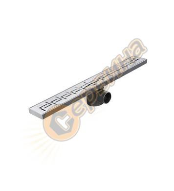 Линеен сифон от неръждаема стомана Vidima SevaFresh W8802MY
