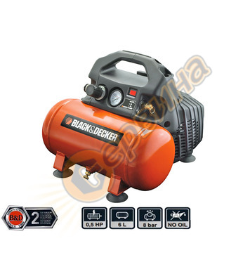 Компресор Black&Decker BD55-6 - 6л/8бара