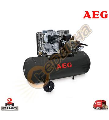 Компресор AEG B100/26 1484105000 - 100л / 10бара