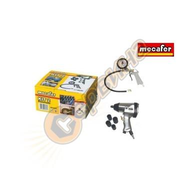 Комплект пневматични инструменти Mecafer 9045268 - 6 части