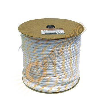 Въже плетено от полиестер 6мм х 200м PE6