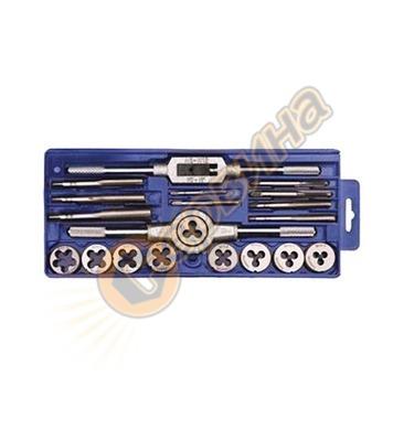 Комплект за нарязване на резби 20 части М3-М12 Topex 14A425