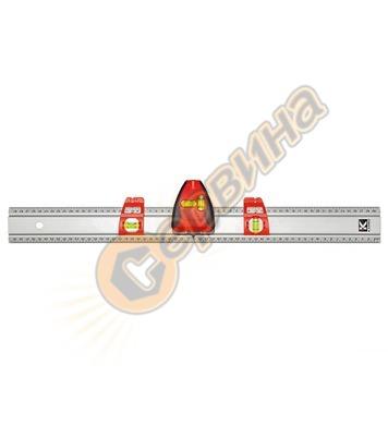 Професионална метална линийка с лазер 600мм Kapro 814 Prolas