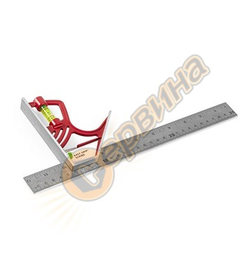 Прав ъгъл с либела Kapro 325 Magnetic Lock Combination Squar