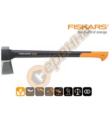 Брадва за цепене Fiskars X25 122480 - 2430 гр