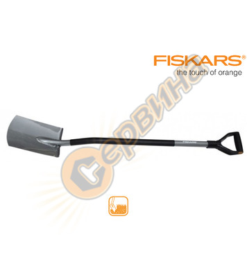 Права градинска лопата Fiskars 131400 - 28х19 см