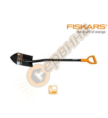 Заострена градинска лопата Fiskars Solid 131413 - 29х18 см