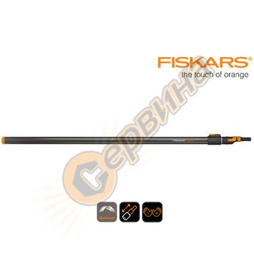 Средна телескопична дръжка Fiskars 136042 - 1400-2400 мм