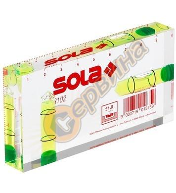 Нивелир прозрачен със скала 10см Sola R 102