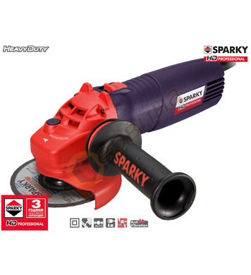 Ъглошлайф Sparky M 750E HD 12010070412 - 750W