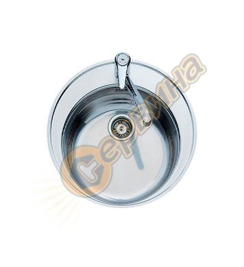 Мивка за вграждане Teka Centroval - Inox гладка М.528  40127