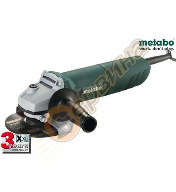Ъглошлайф Metabo W 1080 606722000 - 125мм