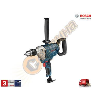 Бормашина - миксер Bosch GBM 1600 RE 06011B0000 - 850W
