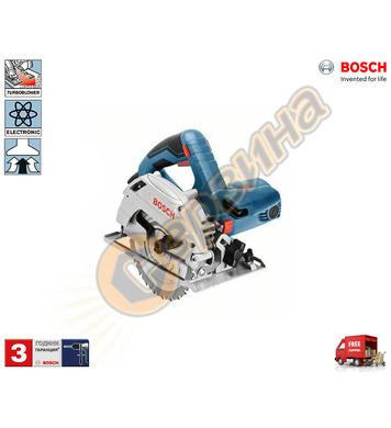 Ръчен циркуляр Bosch GKS 165 Professional 0601676100 - 1100W