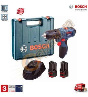 Акумулаторен винтоверт Bosch GSR 1080-2-LI Professional 0601