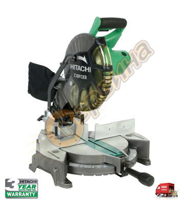 Настолен циркуляр Hitachi C10FCE2-UT - 1520W