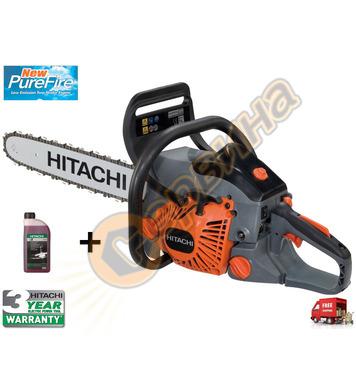 Бензинов верижен трион Hitachi CS40EANC - 1.8KW/450мм.
