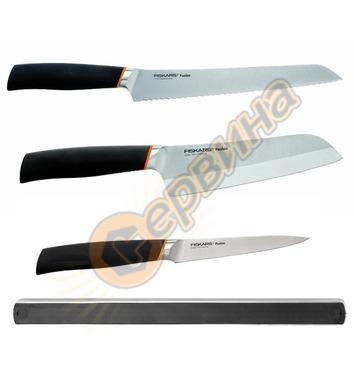 Комплект ножове Fiskars Fuzion + магнитна релса 1003077 - 97