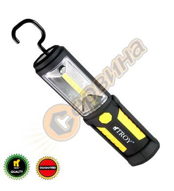 Акумулаторна работна лампа-фенер TROY T28054 - 3.7V/Li-Ion