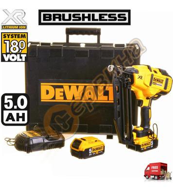Акумулаторен такер DeWalt DCN660P2 - 18V/5.0Ah Li-Ion