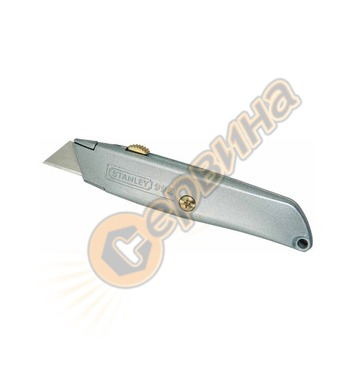 Макетен нож трапецовиден метален за подови настилки Stanley