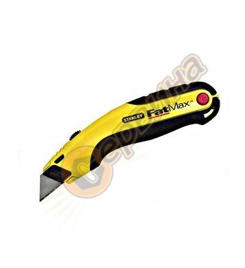 Макетен нож трапецовиден метален с резерв Stanley 0-10-778 -