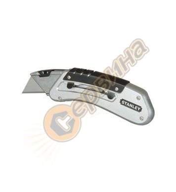 Макетен нож трапецовиден метален Stanley 0-10-810 - 18мм
