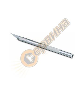 Макетен нож с метална дръжка Stanley 0-10-401 - скалпел 120м