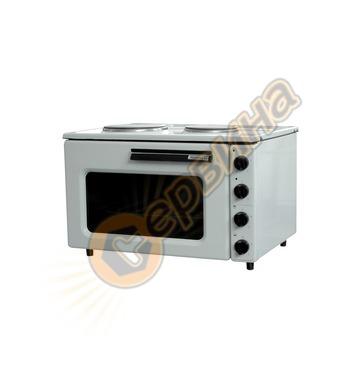 Електрическа готварска печка Diplomat Раховец 01 3650W - 34л