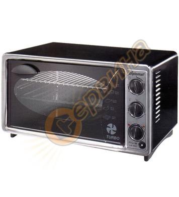Електрическа готварска печка - фурна Diplomat LX 3520 1500W