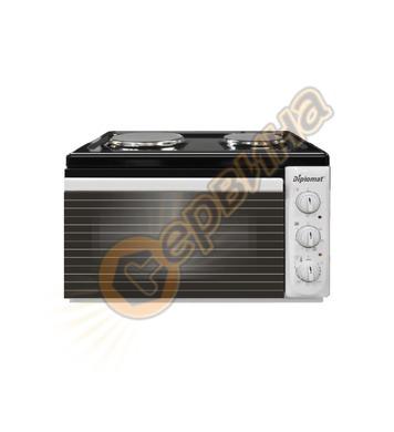 Електрическа готварска печка Diplomat DPL BW 30 4100W - 38ли