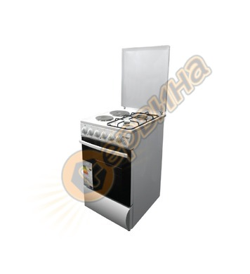 Електрическа и газова готварска печка Diplomat DPL AF 21 510