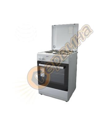 Електрическа и газова готварска печка Diplomat DPL 6022 F 52