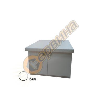 Шкаф с термоплот Diplomat DPL01 - бял/венге