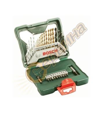 Комплект инструменти Bоsch X-line Titanium 2607019324 - 30ча