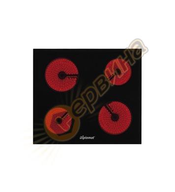 Стъклокерамичен плот за вграждане Diplomat DPL H 6040 DECB -
