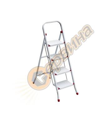 Стоманена домакинска стълба Drabest Manifero 03080074 - 4бр