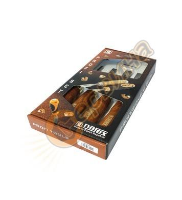 Комплект дърводелски длета Narex 8632 01 Premium - 4бр