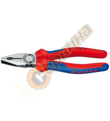 Професионални комбинирани клещи Knipex 03 02 180 - 180 мм