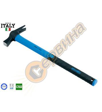 Кофражен-строителен чук с фибергласова дръжка Ausonia AU4501