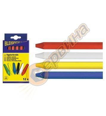Молив за маркиране-рисуване БЯЛ Ausonia AU48494 1бр - 120x12