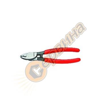 Професионални клещи за рязане на кабел Cu Knipex 09 11 165A