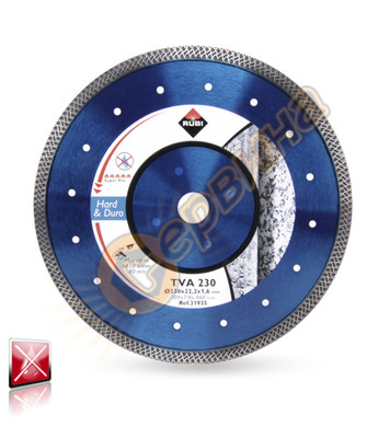 Диамантен диск за сухо рязане Rubi TVA 180 SUPERPRO 31934 -