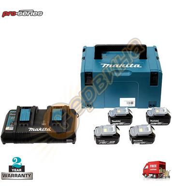 Акумулаторен комплект батерии и зарядно Makita 197720-6 - 18